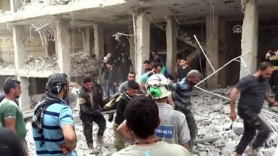 Hava saldırısı: 4 ölü - İDLİB