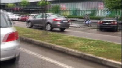 Samsun'da kaza...11 araç birbirine girdi: 2 yaralı