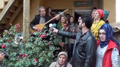 Sanatçıların köyünde Hıdırellez kutlaması