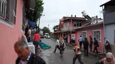 Şiddetli yağış ve fırtına nedeniyle kopan elektrik teli ölüme neden oluyordu