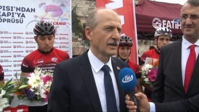 Sırbistan'dan Türkiye'ye 'dostluk' için pedal çevirdiler