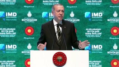 Cumhurbaşkanı Erdoğan: 'Bunlar nerede elmas varsa, nerede altın varsa nerede kendileri için petrol varsa oradalar'- İSTANBUL
