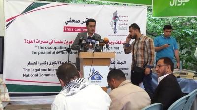 'İsrail, barışçıl göstericileri kasıtlı olarak hedef alması savaş suçudur' - GAZZE