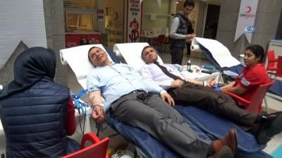İstanbul Adliyesi'nde kan bağışı