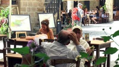 Kıbrıs'taki Osmanlı mirası 'Büyük Han' turistlerin gözde mekanı oldu - LEFKOŞA