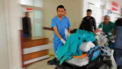 Mayına basarak yaralanan 1 kişi Erzincan'da tedavi altına alındı