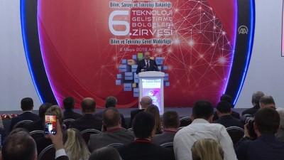 Bakan Özlü: 'Yılın ilk 3 ayında, 8 teknoloji geliştirme bölgesinin kuruluşunu ilan ettik' - ANKARA