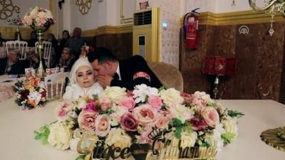 Cam kemik hastası genç kıza sponsorların desteğiyle düğün yapıldı - BURDUR