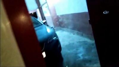 Kamyoncuların kabusu çeteye nefes kesen baskın kamerada