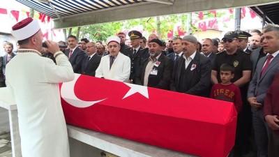 Şehit gece bekçisi Kocatürk son yolculuğuna uğurlandı - İSTANBUL