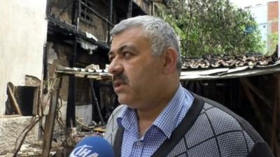 Tokat'ta ahşap evde çıkan yangında kundaklama şüphesi:2 gözaltı
