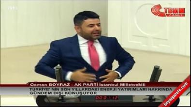 AK Partili Boyraz, Meclis'i devam diye inletti