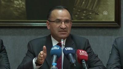 argo - Başbakan Yardımcısı Bozdağ: 'Trump'un dün yaptığı açıklama talihsiz bir açıklama' - ANKARA