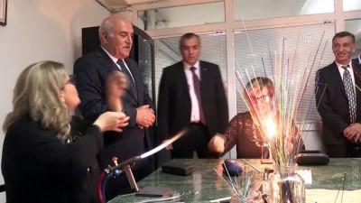 Ev kadınları ve engellier için cam sanatı gelir kapısı olacak - SİNOP