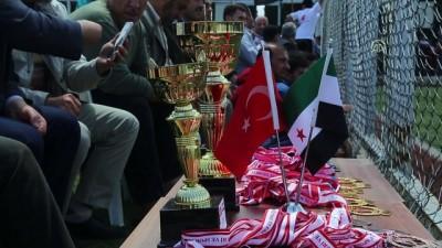Fırat Kalkanı bölgesinde futbol turnuvası - AZEZ