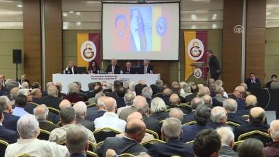 Galatasaray Kulübü Divan Kurulu toplantısı - Başkan adayı Özbek - İSTANBUL