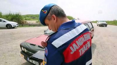 Jandarma yazlık kıyafetlerini giydi - EDİRNE