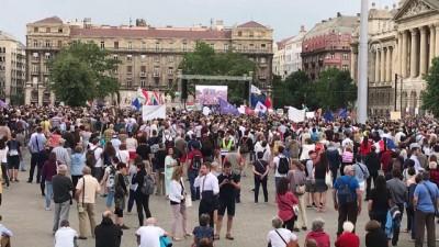 Macaristan'da hükümet karşıtı eylem