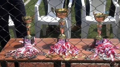 Suriye'nin Mera Kasabasında Futbol Turnuvası