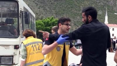 teror saldirisi - Triaj tatbikatı gerçeğini aratmadı - GÜMÜŞHANE