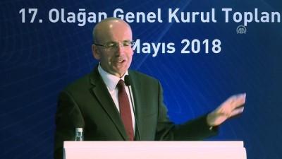 Türkiye Katılım Bankaları Birliği Olağan Genel Kurulu - Başbakan Yardımcısı Şimşek (2) - İSTANBUL