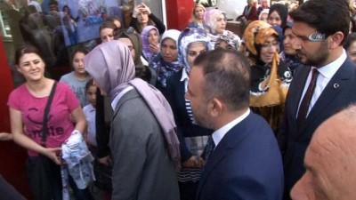 yardim kampanyasi -  Cumhurbaşkanı Erdoğan'a Sincan'da dev destek