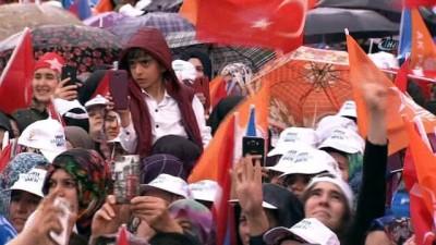 """Cumhurbaşkanı Recep Tayyip Erdoğan: """"Malatya'ya 16 yılda 16,5 kat trilyon yatırım yaptık"""""""