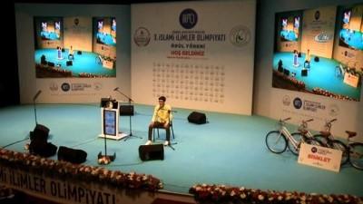 İçişleri Bakanı Soylu, 3'üncü İslam İlimler Olimpiyatı Ödül Törenine katıldı