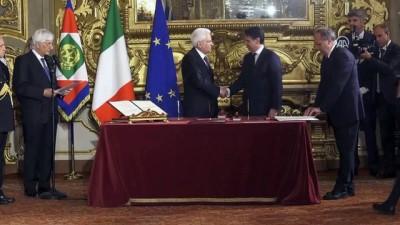 İtalya'da Conte hükümeti dönemi - ROMA