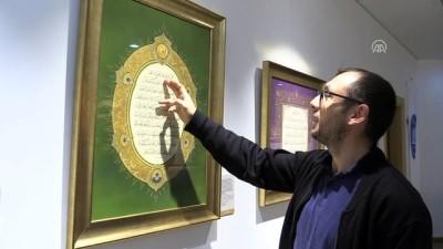 'Kalemin Bereketi Hat ve Tezhip Sergisi' Çorum'da açıldı