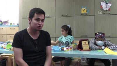 Kanseri yendi şimdi hasta çocuklara umut oluyor - GAZİANTEP