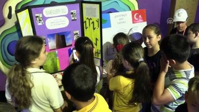 Ortaokul öğrencileri 'Göktürkçe tahta' geliştirdi - EDİRNE
