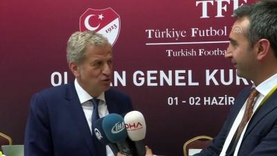 TFF Başkan Vekili ve UEFA Yönetim Kurulu Üyesi Yardımcı: '2024 için çok ümitliyiz' - ANKARA