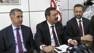 TOBB Başkanı Rifat Hisarcıklıoğlu'ndan ETSO'ya ziyaret - ELAZIĞ