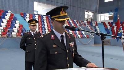 Zonguldak'ta 371. kısa dönem jandarma erler törenle yemin etti