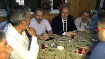 - AK Parti Bursa Milletvekili adayı Ahmet Yelis, ahududu üreticileri ile bir araya geldi