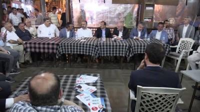 Başbakan Yardımcısı Çavuşoğlu'Topunuz geleceksiniz yine başaramayacaksınız' - BURSA