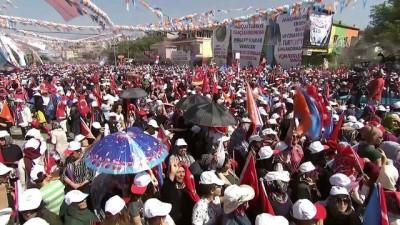 Cumhurbaşkanı Erdoğan: 'Gördük ki, bir ayda Muharrem de başımıza kesildi bir küçük Kılıçdaroğlu' - DENİZLİ