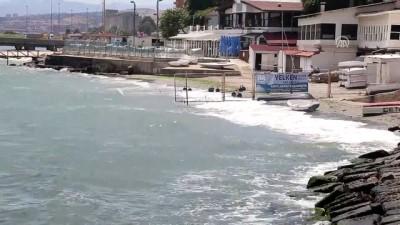 Marmara Denizi'nde ulaşıma lodos engeli - TEKİRDAĞ
