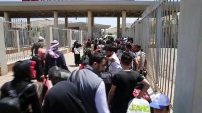 Suriyelilerin Cilvegözü Sınır Kapısı'ndan çıkışları sürüyor - HATAY