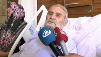 85 yaşındaki 'Genç' ömründe ilk defa hastaneye geldi