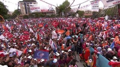 AK Parti'nin Niğde mitingi (1)