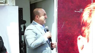 """Çavuşoğlu: """"Biz bu yola kefenlerimizi giydik, öyle çıktık' - ANTALYA"""