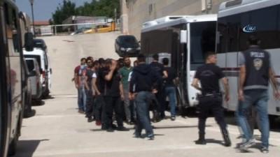 Elazığ merkezli FETÖ'ye ankesör operasyonu: 18 subay adliyeye sevk edildi