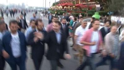 """Enerji ve Tabii Kaynaklar Bakanı Berat Albayrak: """"Sizin vizyonunuz buysa vah ki ne vah"""""""