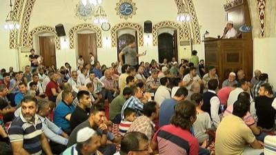 teravih namazi -  Habib'i Neccar Camii'nde Kadir gecesinde sular edildi