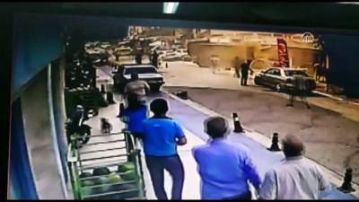 Kaza anı güvenlik kamerasında - MUĞLA