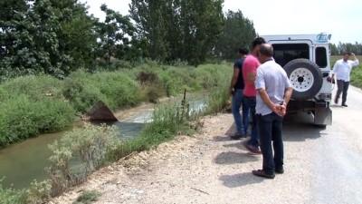 kanald -  Sulama kanalında erkek cesedi bulundu
