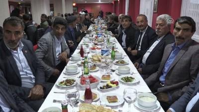 Bakan Arslan, muhtarlar ve sivil toplum örgütü temsilcileriyle iftarda bir araya geldi - KARS