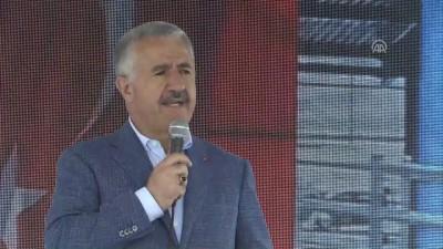 Bakan Arslan: 'Recep Tayyip Erdoğan'ı çok güçlü şekilde destekleyeceğiz' - KARS